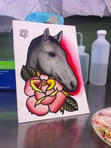a girl named horse